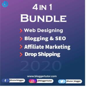 4 in 1 Online Earning Course Bundle