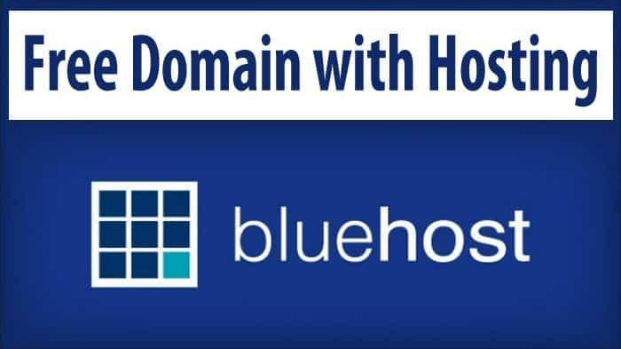 Get Free Domain With Bluehost