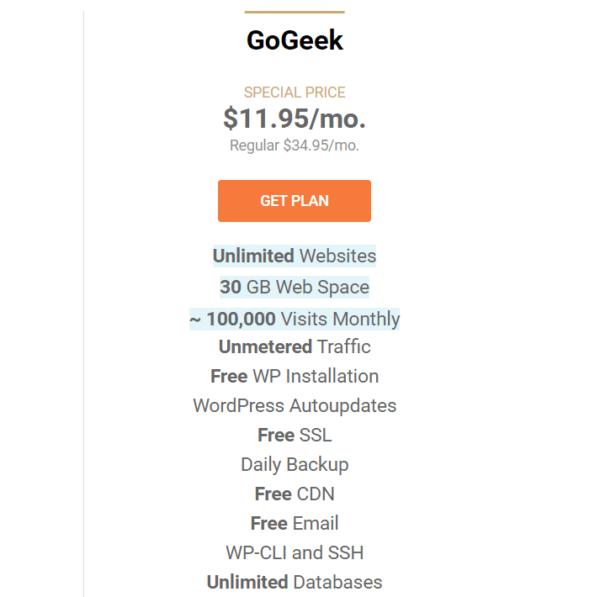 Siteground Gogeek