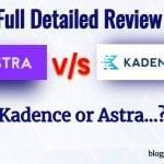 Kadence vs Astra