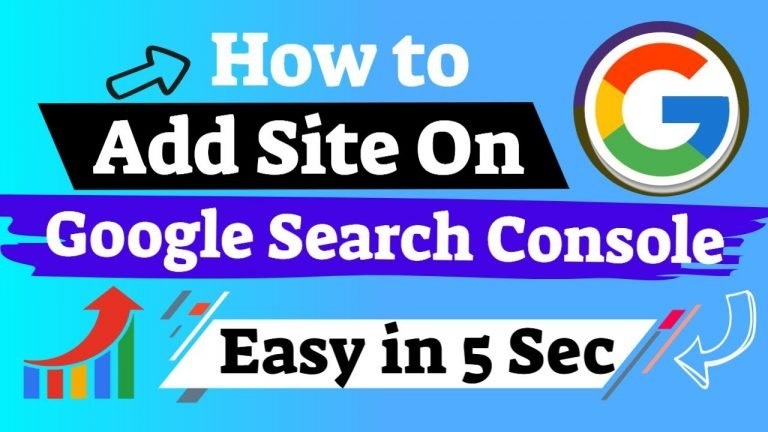 Add & Verify Site on Google Search Console Quickly in 5 Easy Steps