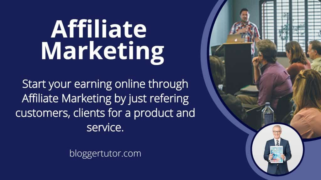 Earn Money Online from Affiliate Marketing.