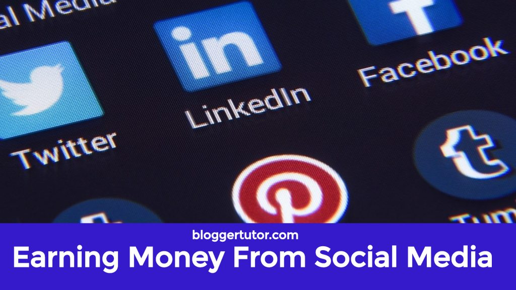 Earning Money From Social Media