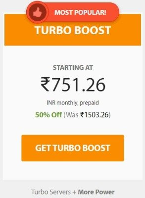 A2hosting Turbo Boost Plan