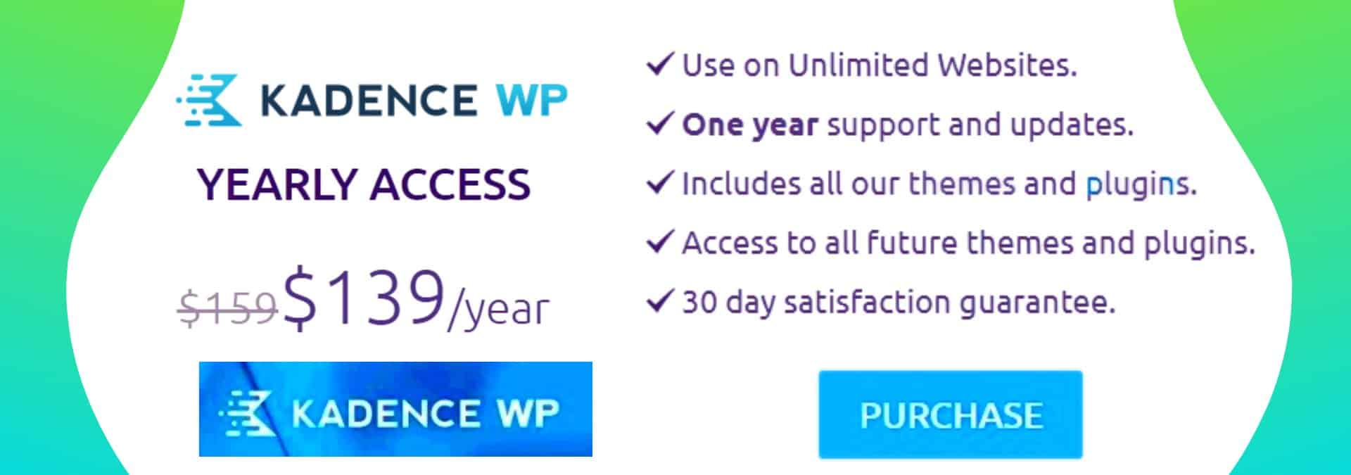 Kadencewp Membership Offer