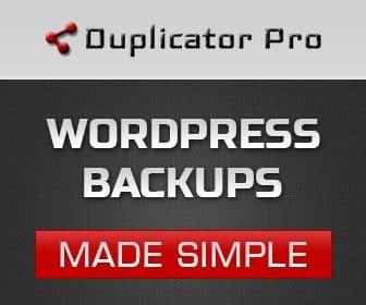 Duplicator Pro Offer 2020