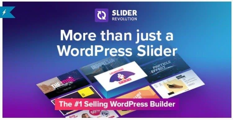 Slider Revolution Responsive Wordpress Offer