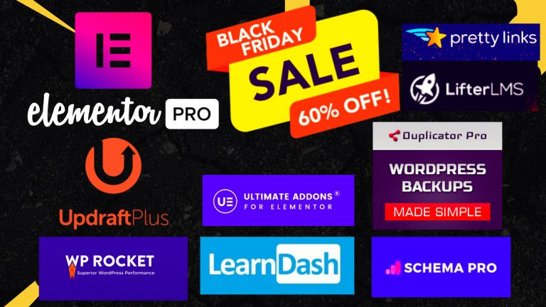 25+ Black Friday Plugin Deals And Offers  [Upto 80- Off]