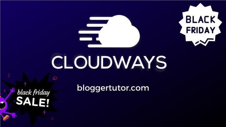 Cloudways Black Friday 2021