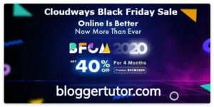 Cloudways black friday coupon