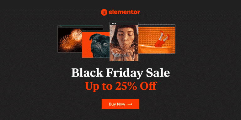 [25- Off] Elementor Pro Black Friday Deals {Free $2000 Bonus }