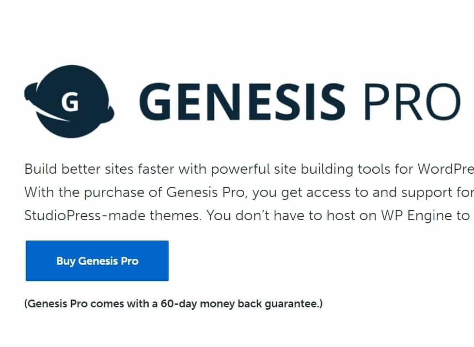 30+ Best Wp Theme Deals And Offers On Black Friday And Cyber Monday 2020 Genesis Pro Studiopress Black Fiday Deals