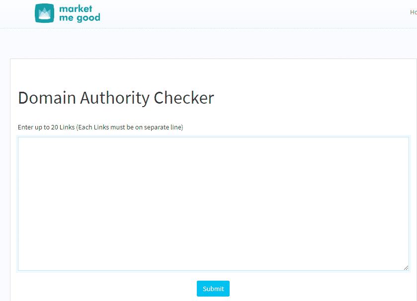7 Best Domain Authority Checker Tools For 2021 Market Good Da Checker