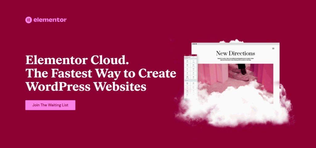 Elementor Cloud Launching Professional WordPress Website Hosting