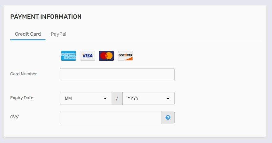 FastComet Payment Methods