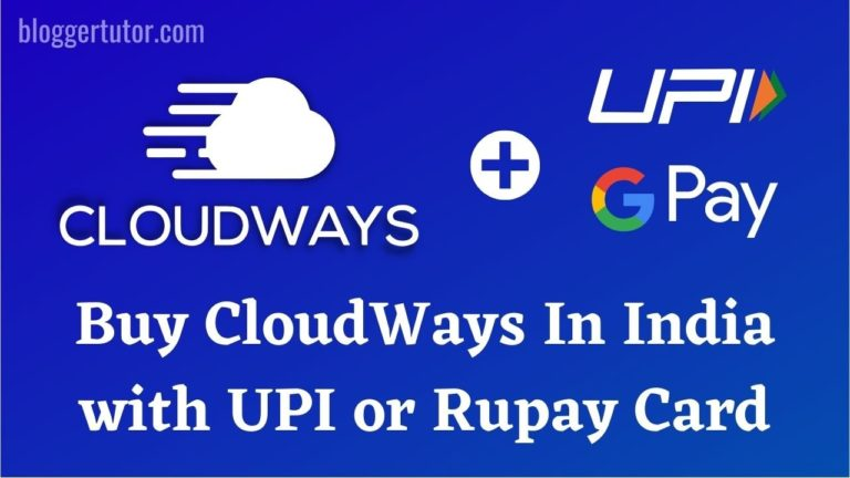 Buy Cloudways in India with UPI or Rupay Card